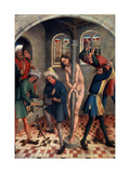 The Flagellation of Christ, before 1457 Giclee Print by Johann Koerbecke