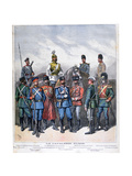Russian Cavalry, 1892 Giclee Print by Henri Meyer