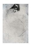 Fumette's Bent Head, C1859 Giclee Print by James Abbott McNeill Whistler