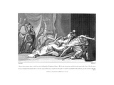Attempt to Exorcise Evil Spirits Possessing a Patient in San Spirito Hospital, Rome, 1792 Giclee Print by Henry Fuseli