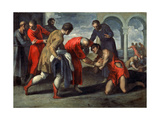 Return of the Prodigal Son, after 1600 Giclee Print by Jacopo Palma