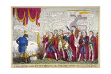 A Civic Louse in the State Bed!!!, or the Corporation Conglomorated!!, 1824 Giclee Print by Isaac Robert Cruikshank