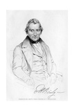 Edward Hodges Baily (1788-186), British Sculptor, 19th Century Giclee Print by J Smyth