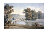 Allington Castle, Near Maidstone, Kent, 19th Century Giclee Print by James Duffield Harding