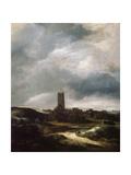 View of Egmond-An-Zee, C1655 Giclee Print by Jacob van Ruisdael