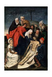 The Lamentation over Christ, Early 16th Century Giclee Print by Hugo van der Goes