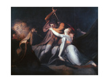 Percival Delivering Belisane..., Exhibited 1783 Giclee Print by Henry Fuseli