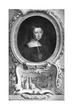 Catherine of Aragon (1485-153), 1744 Giclee Print by Jacobus Houbraken
