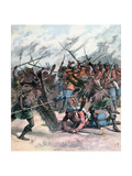 Insurrection in Manpur, India, 1891 Giclee Print by Henri Meyer