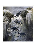 A Terrible Accident in the Alps, 1892 Giclee Print by Henri Meyer