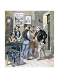 Before the Election, 1893 Giclee Print by Henri Meyer