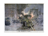 Riots in Paris, 1897 Giclee Print by Henri Meyer
