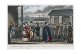 Splendid Jem' Amongst the Convicts in the Naval Dock Yard at Chatham, Kent, 1821 Giclee Print by Isaac Robert Cruikshank
