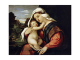 Virgin and Child, 1515-1516 Giclee Print by Jacopo Palma