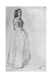 Fumette, Standing' 1859 Giclee Print by James Abbott McNeill Whistler