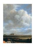 View of Haarlem, (Detail), C1670 Giclee Print by Jacob van Ruisdael