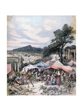 Earthquake in Thebes, 1893 Giclee Print by Henri Meyer