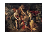 The Three Ages of Man, Allegory, Late 16th Century Giclee Print by Jacob de Backer