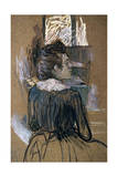Woman at a Window, 1889 Lámina giclée por Henri de Toulouse-Lautrec