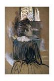 Woman at a Window, 1889 ジクレープリント : アンリ・ド・トゥールーズ=ロートレック