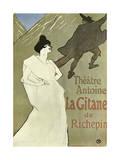 La Gitane, 1899-1900 ジクレープリント : アンリ・ド・トゥールーズ=ロートレック