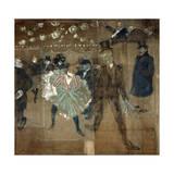 La Goulue and Valentin Le Desosse, 1895 Giclee Print by Henri de Toulouse-Lautrec