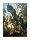 Prometheus Bound, C1640 Giclee Print by Jacob Jordaens