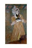 Portrait of Miss May Belfort, 1895 Lámina giclée por Henri de Toulouse-Lautrec