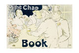 Irish and American Bar, Rue Royale - the Chap Book, 1896 Lámina giclée por Henri de Toulouse-Lautrec