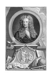 Isaac Newton (1642-172), English Mathematician, Astronomer and Physicist, 1738 Giclee Print by Jacobus Houbraken
