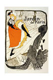 Jane Avril at the Jardin De Paris, 1893 Lámina giclée por Henri de Toulouse-Lautrec
