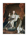 Louis XV at the Age of Five, C1715 Giclee Print by Hyacinthe Rigaud