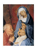 The Adoration of the Magi, Detail, 15th Century Giclee Print by Hugo van der Goes
