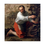 Winegrower, 1628 Lámina giclée por Jacob Gerritsz Cuyp