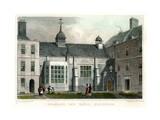 Staple Inn Hall, Holborn, London, 1830 Giclee Print by HW Bond