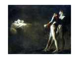 The Three Witches Appearing to Macbeth and Banquo, Late 18th Century Giclee Print by Henry Fuseli