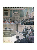 The Gouffe Case, 1890 Giclee Print by Henri Meyer