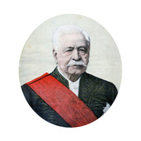 Ferdinand De Lesseps, French Diplomat and Entrepreneur, 1894 Giclee Print by Henri Meyer