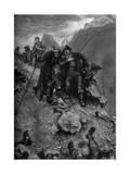 The Poacher's Fate, 1879 (C1880-188) Giclée-Druck von Hubert von Herkomer