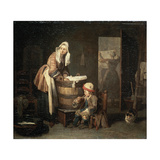 The Laundress, 1730S Giclee Print by Jean-Simeon Chardin
