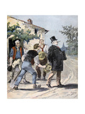 After the Election, 1893 Giclee Print by Henri Meyer