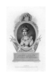 Empress Marie-Louise, Second Wife of Napoleon, 1823 Giclee Print by J Stewart