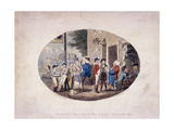 Old Hats Tavern, (Uxbridge, Middlesex), 1796 Giclee Print by Isaac Cruikshank