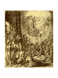 Study for the Martydom of St Stephen, 1913 Giclee Print by Jacopo Tintoretto