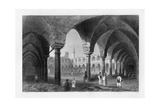 Ancient Buildings in St Jean D'Acre (Acr), Israel, 1841 Giclee Print by J Tingle