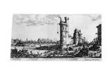 Vue Ancienne De Paris, C1615-1635 Giclee Print by Jacques Callot