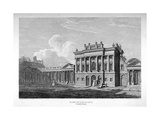 View of the South Front of the Bank of England, City of London, 1814 Giclee Print by James Stewart