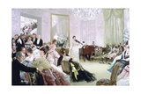 Hush!, (The Concer), C1875 Giclee Print by James Jacques Joseph Tissot