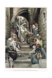 Christ Healing the Sick Brought to Him in the Villages, C1890 Giclee Print by James Jacques Joseph Tissot