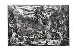 Tentation De St Antoine, C1615-1635 Giclee Print by Jacques Callot